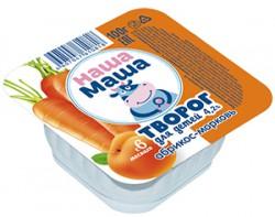 Творог для питания детей раннего возраста с 6-ти месяцев, со вкусом абрикос - морковь