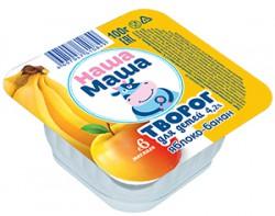 Творог для питания детей раннего возраста с 6-ти месяцев, со вкусом яблоко - банан