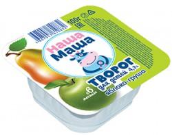 Творог для питания детей раннего возраста с 6-ти месяцев, со вкусом яблоко - груша
